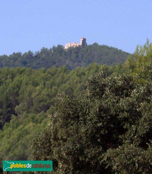 El Puig de la Creu, vist des de més amunt de Can Senosa