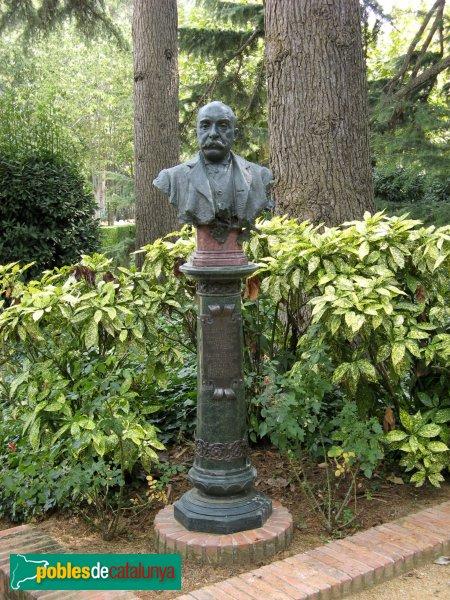 Argentona - Casa Garí - Bust de Josep Garí