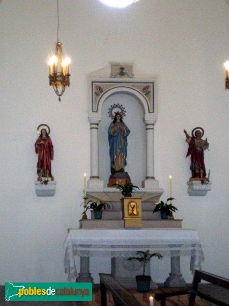 Selva de Mar - Església - Capella de la Inmaculada