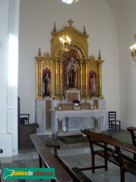 Selva de Mar - Església - Verge del Carme