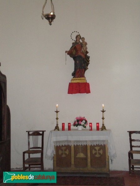 Selva de Mar - Església - Verge del Roser