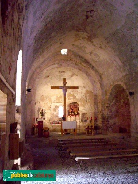 Interior de l'Ermita de Santa Maria del Puig de la Creu