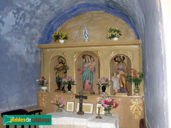 Cortàs - Sant Policarp: Interior