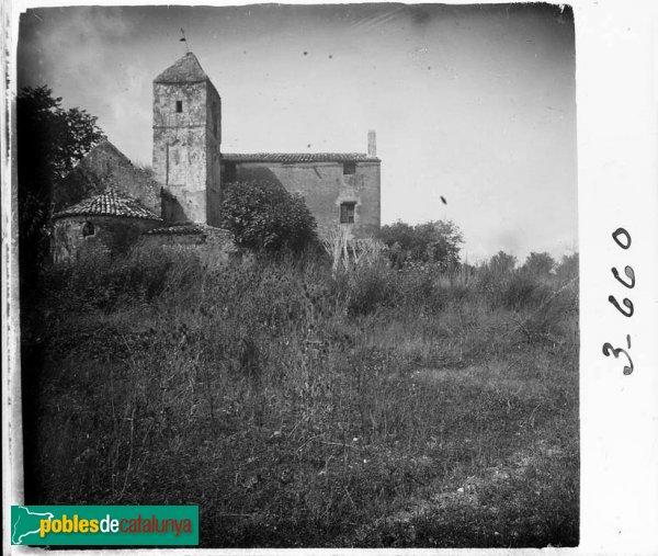 Absis de l'església de Sant Pau de Riu-sec