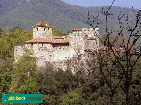 Castell de Clasquerí, vist des de Castellar Vell