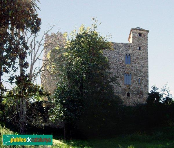 Castell de Clasquerí, cara nord