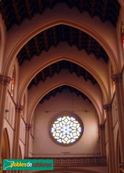 Vitrall de l'Església