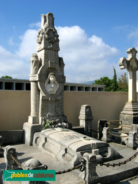 Arenys de Mar - Cementiri - Sepulcre Córdoba