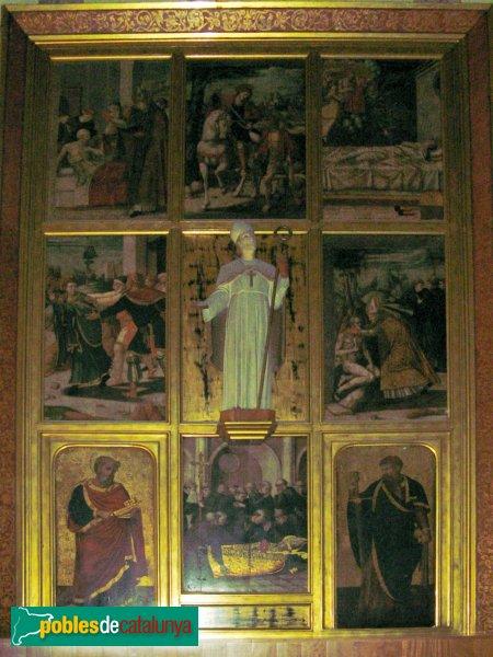 Arenys de Munt - Església de Sant Martí - Retaule