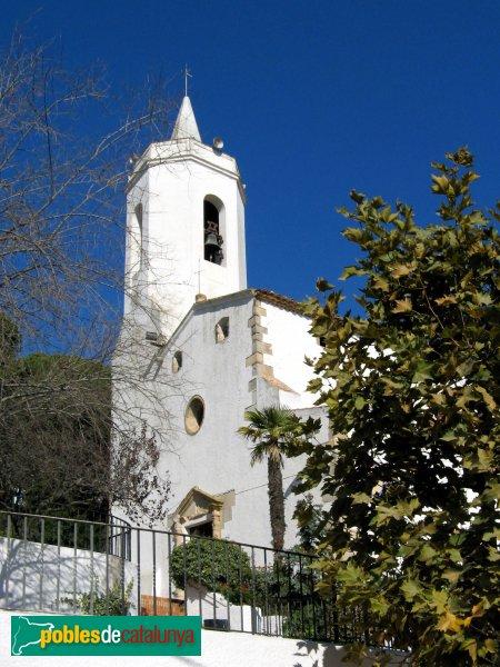 Sant Cebrià de Vallalta - Església