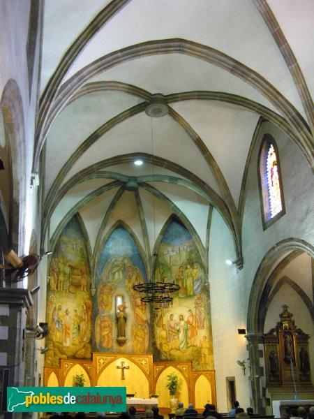 Sant Pol - Església de Sant Jaume, interior