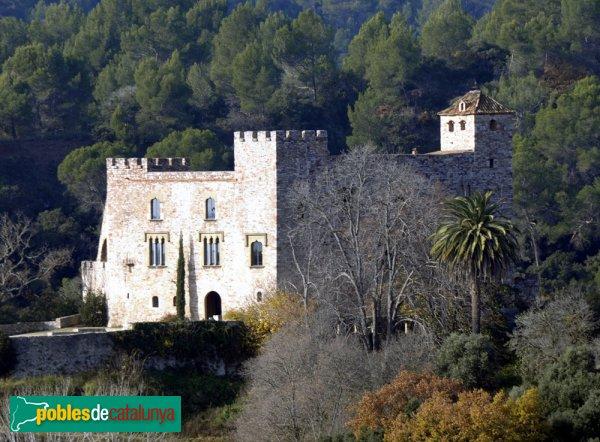 Castell de Clasquerí, vist des dels volts de Can Turuguet
