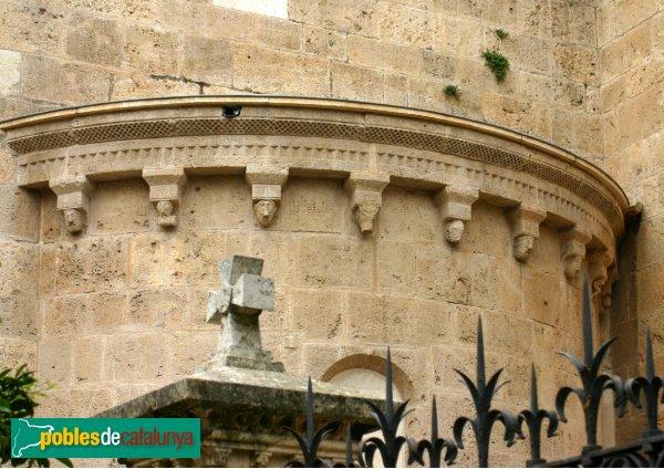 Tarragona - Catedral - Absidiola romànica