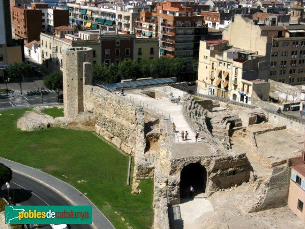 Tarragona - Circ - Muralleta i Torre de les Monges