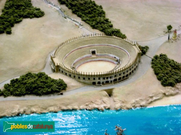 Tarragona - Amfiteatre - Maqueta