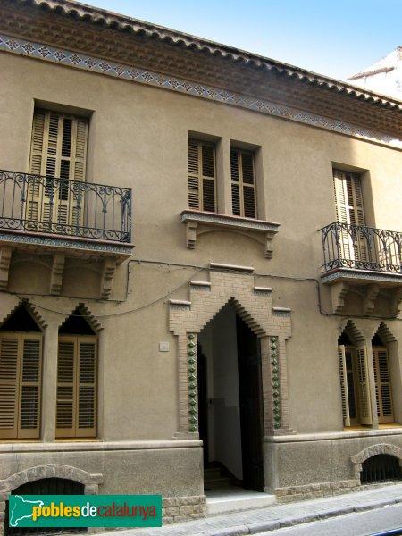 Casa josep badia molins de rei pobles de catalunya - Casas en molins de rei ...