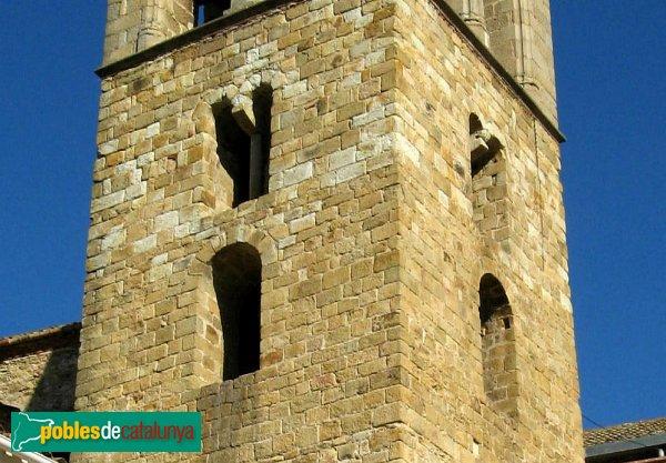 Tordera - Campanar romànic de Sant Esteve