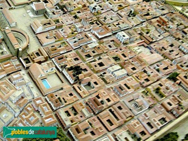Tarragona - Maqueta de la ciutat romana