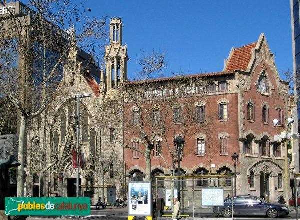 Barcelona - Església i Convent de Pompeia