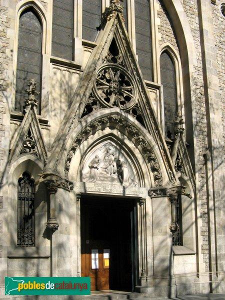 Barcelona - Església de Pompeia, portada