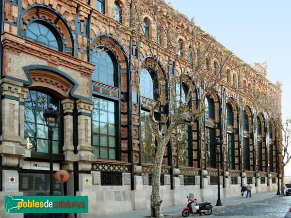 Barcelona - Central d'Electricitat, ampliació