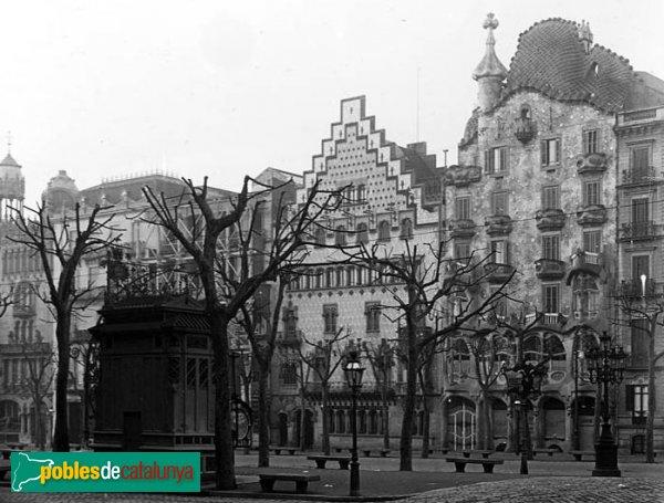 Barcelona - Casa Amatller i casa Batlló