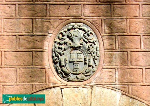 Pallejà - Castell, escut dels Torrelles