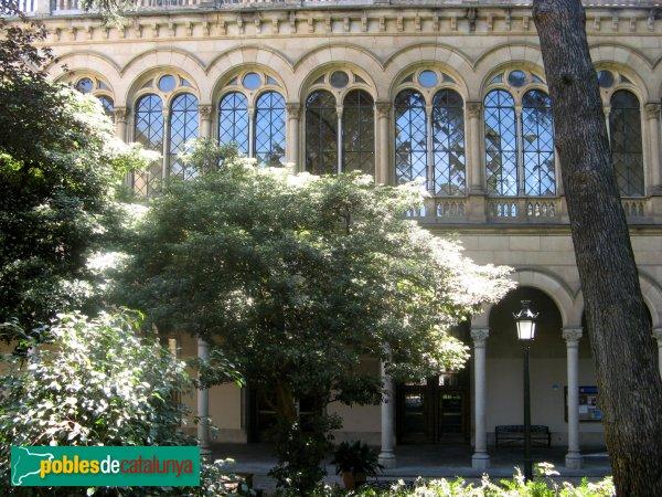 Barcelona - Universitat, jardins