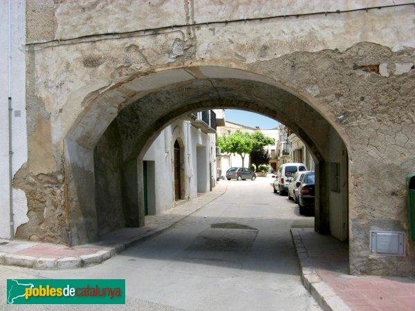 Vilallonga del Camp - Porta de la casa Sol