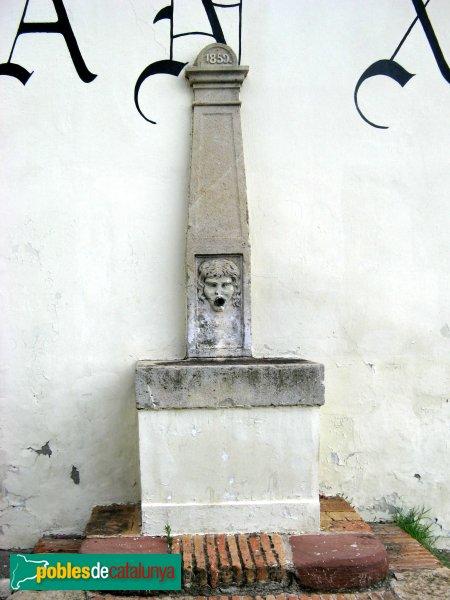 Sant Boi de Llobregat - Casa Gran del Bori, font