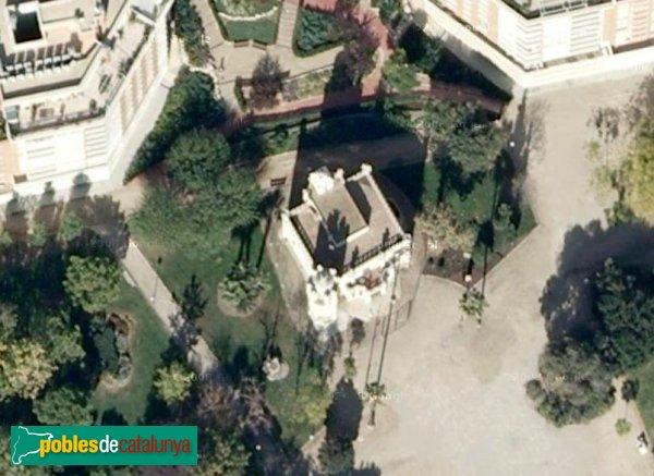 Tarragona - Casa Rafael Puig, vista aèria