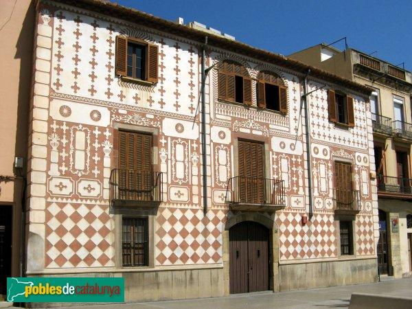 Ca n 39 ametller molins de rei pobles de catalunya - Casa en molins de rei ...