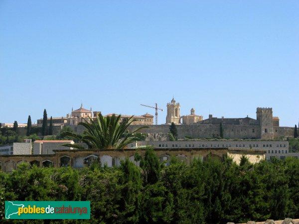 Tarragona - Les muralles des del cementiri