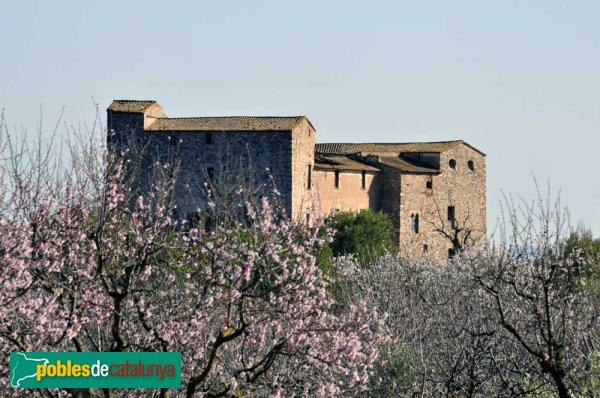 El castell de Sentmenat, al Febrer