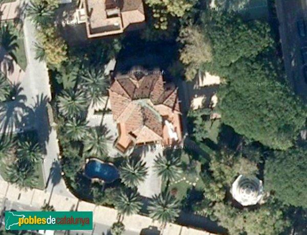 Salou - Casa Bonet, vista aèria