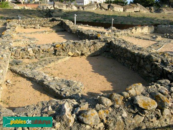 Roses - Ciutadella, restes romanes