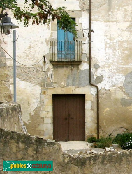 Pau - Can Marquès, porta