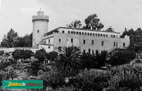 Sant Vicenç de Montalt - Torre de can Valls, inicis segle XX