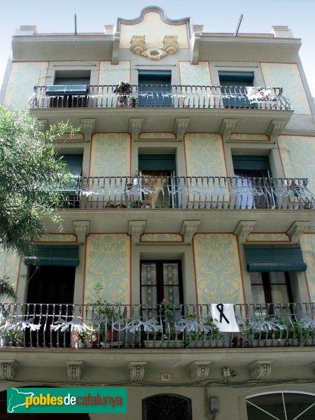 Casa josep barnoles barcelona vila de gr cia sud - Casa torres barcelona ...