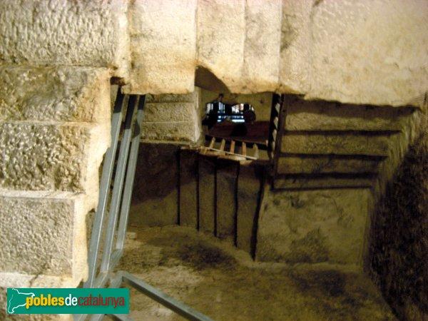 Castellnou de Seana - Sant Joan Baptista, escales del campanar