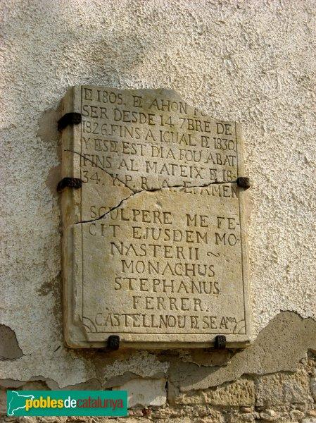 Castellnou de Seana - Làpida sepulcral