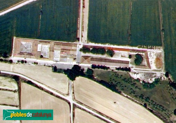 Vila-sana - Novella Alta, vista aèria
