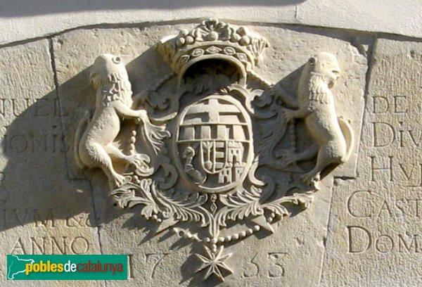 Barbens - Castell, escut