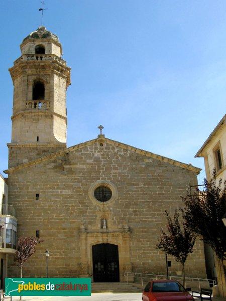 Ivars d'Urgell - Església de Sant Andreu