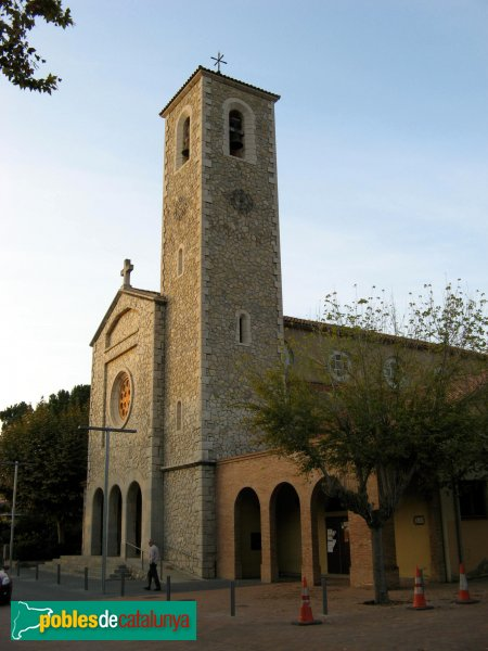 Begues - Església parroquial de Sant Cristòfor