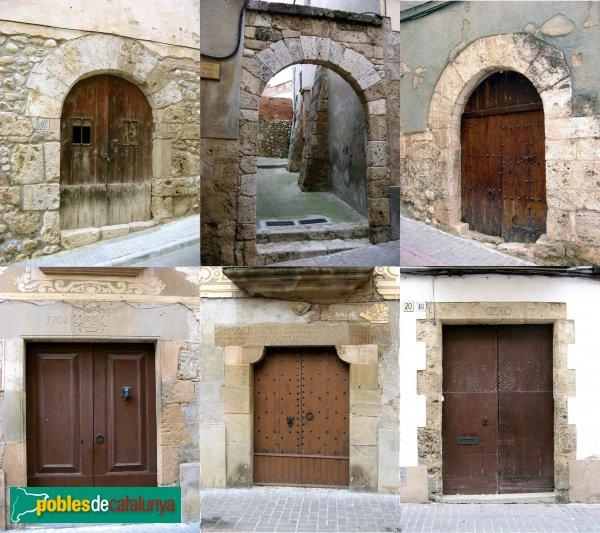 Piera - Portals de pedra