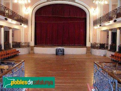 Hostalets de Pierola - Casal Català, teatre