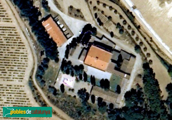 Hostalets de Pierola - Can Mata de la Garriga, vista aèria