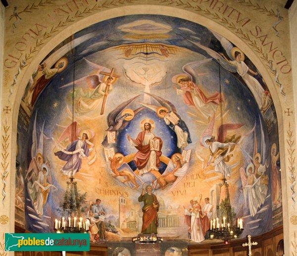 Hostalets de Pierola - Sant Pere d'Hostalets, altar
