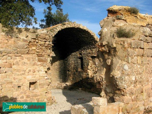 El Bruc - Sant Pau Vell, capella lateral